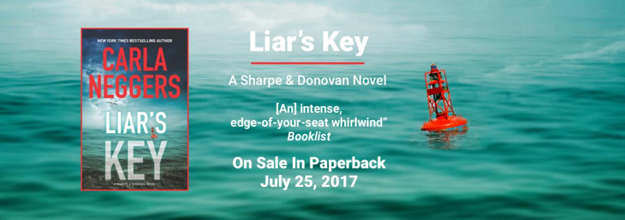 Liars Key Slider On Sale in Paperback on July 25th